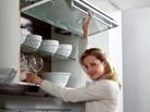 Решения за окачени на стената кухненски шкафове