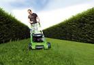 Косене на тревата с рекултивиране