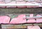 Полагане на настилки и облицовки от естествен камък