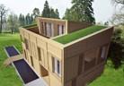 Конкурс за еднофамилна жилищна сграда с дървена конструкция и системи за сухо строителство