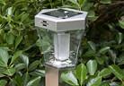 Градински лампи  със слънчево захранване