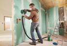 Система на Bosch за безпрашно шлифоване на строителни материали