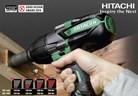 Ударни гайковерти с безчеткови електродвигатели на Hitachi