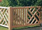 Дъсчени огради