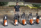 Новото семейство водоструйни машини на STIHL