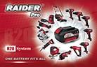 Новата фамилия Raider Pro R20 System