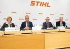 Пресконференция на Управителния съвет на STIHL AG