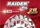 20 години електроинструменти Raider  – новото попълнение на фамилията Raider Pro R20 System
