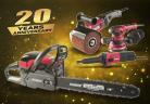 20 години марка RAIDER – подбрани електроинструменти от юбилейната палитра