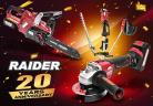 Най-нови попълнения електроинструменти Raider Pro R20