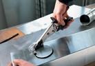 Ръчна щанцова ножица за ламарина