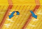 Подпокривна обшивка от плочи върху конструкция от летви